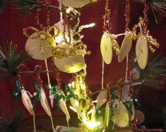 Sand Dollar Christmas Ornaments