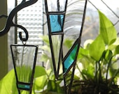 Stained Glass Icicle Ornaments