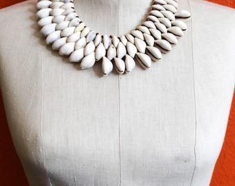 Cowrie 3 Necklace