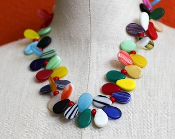 Multicolor Fulani Wedding Necklace