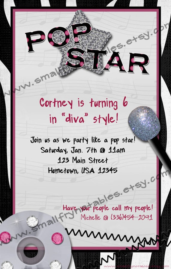Karaoke Party Invitations is adorable invitations template