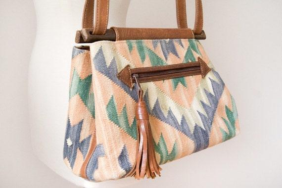 Vintage Southwestern Woven Purse