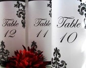 20 French Quarter Table Number Luminaries