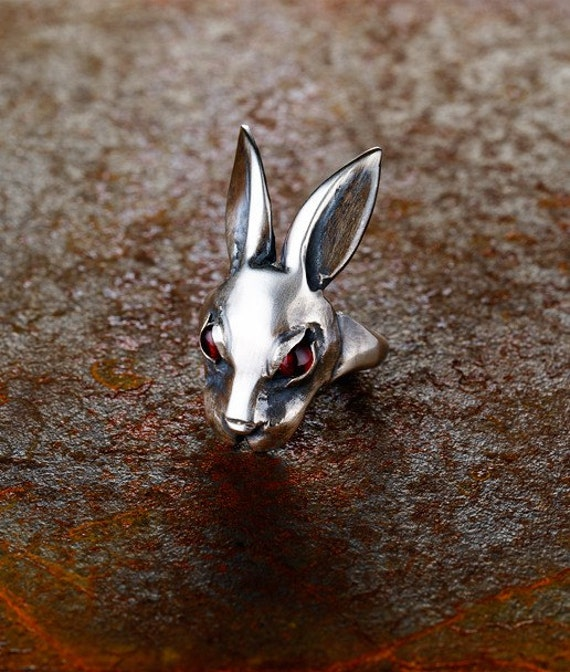 Evil Bunny Ring