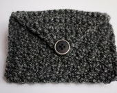 Envelope Style Crocheted Pouch