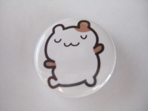 1.25 inch Hamster Button/Magnet