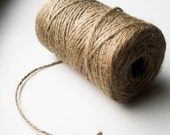 Twine Cord Jute Natural 2 mm - 10 m