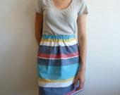 SALE - Late Summer Beach Skirt - (medium) Ready to Ship