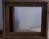 Frames Barn Wood Style 8x10   Weathered Wood    Custom Sizes Available