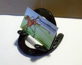 Horseshoe Business Card Holder  Great Gifts