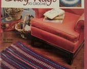 Easy Rugs to Crochet by Anne Halliday