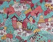 SALE - Liberty tana lawn - Hello Kitty - Town - Green