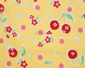Flower in cherry  -  Yellow by Atsuko Matsuyama - Printed in Japan
