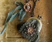 mini purse necklace - koke