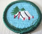 Vintage Girl scout patch