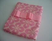 Pink on Pink Receiving Blanket XLarge (45in x 42in)