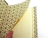Nauli handmade Address Book brown graphic star