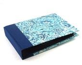 "blue Photo Album Indian Flower 8x6"""