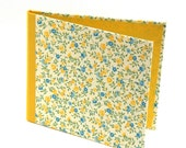 CD Cover yellow blue flowers,  wedding DVD case
