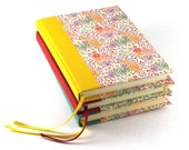 Notebook Summerflower sunny yellow