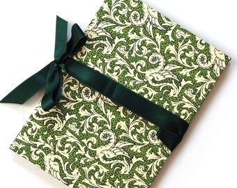 Accordion Book green Asian Dragon Brag Book