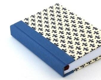 all year planner, Day Planner blue fleur de lis