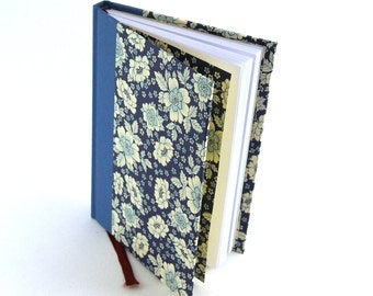 blue floral Weekly Planner 2016 English Flower