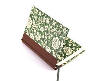floral Notebook, green Renaissance Flowers, garden flowers
