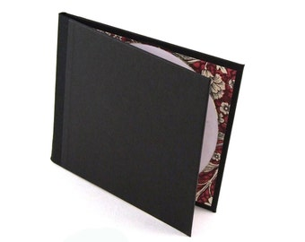 Nauli handmade DVD folio black red