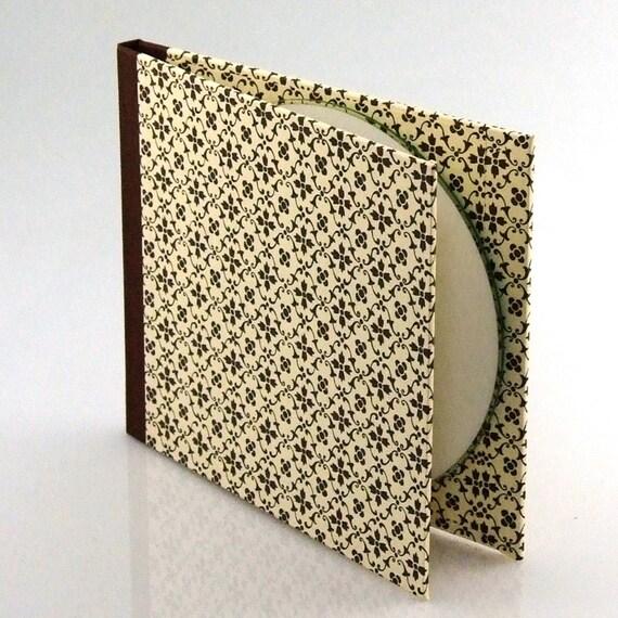 Nauli CD-Case graphic star brown