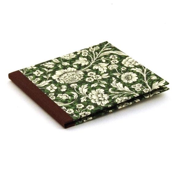 Nauli CD Case Renaissance Flowers green