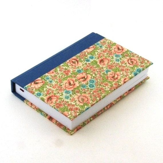 shabby chic Day Planner 2017, pink flowery meadow and blue