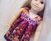 American Girl Doll Clothes -- Salina Dress, One-of-a-Kind