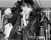 Joey Ramone of The Ramones, 1979