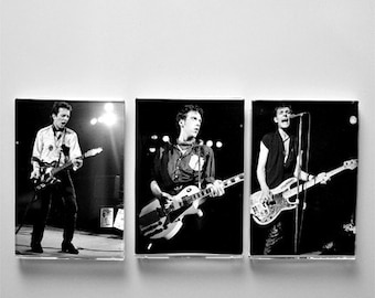 The Clash    a PHOTO MAGNET COLLECTION