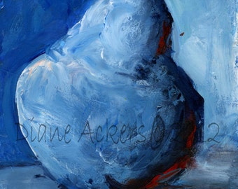 Fine Art Print of my original Pear painting