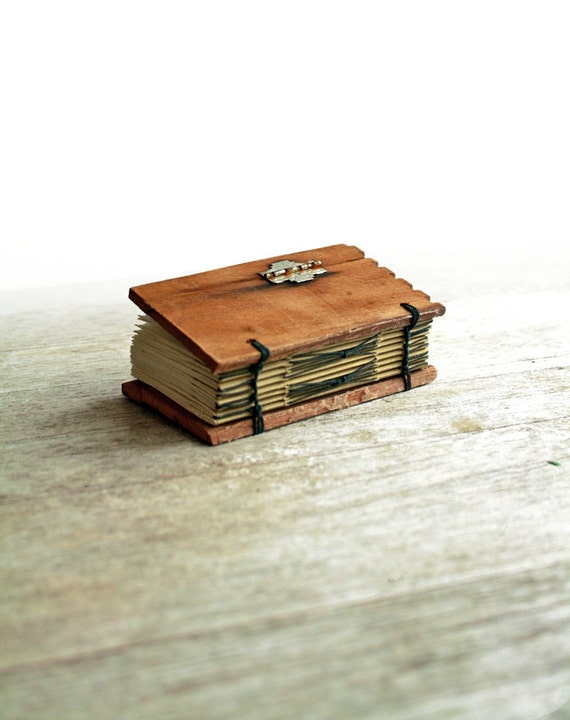 Little Hinge - Mini Cedar Cigar Box Journal