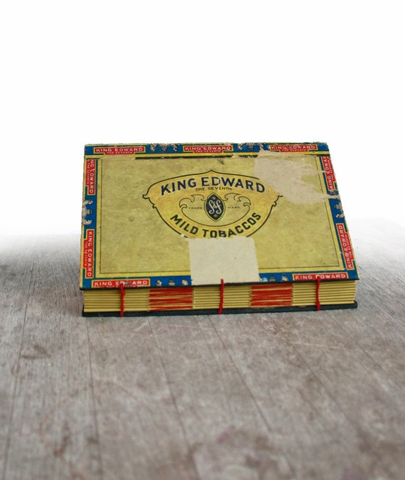 The Peaceable King - Large Handstitched Cigar Box Journal