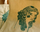 Indian Girl Tote