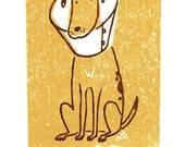 cheer up doggy gocco card