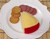 Gouda Cheese Wedge - Stuffed Play Food