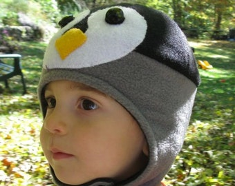 Icy Cool Emperor Penguin Chick Hat for Children
