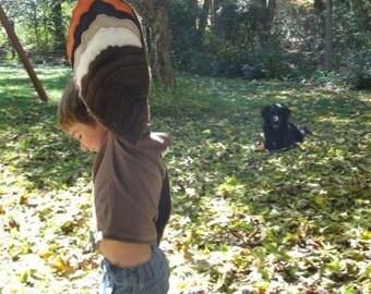 Brown Hoot Owl Wings for Children