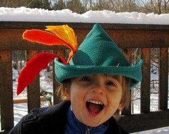 Robin Hood Hat for Your Little Adventurer