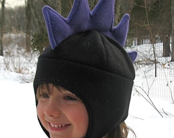 Black Dragon Hat for Infants Toddlers and Children