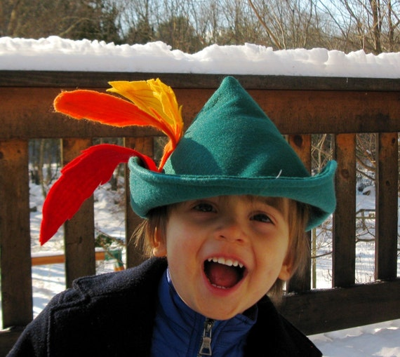 Robin Hood Hat for Your Little Adventurer