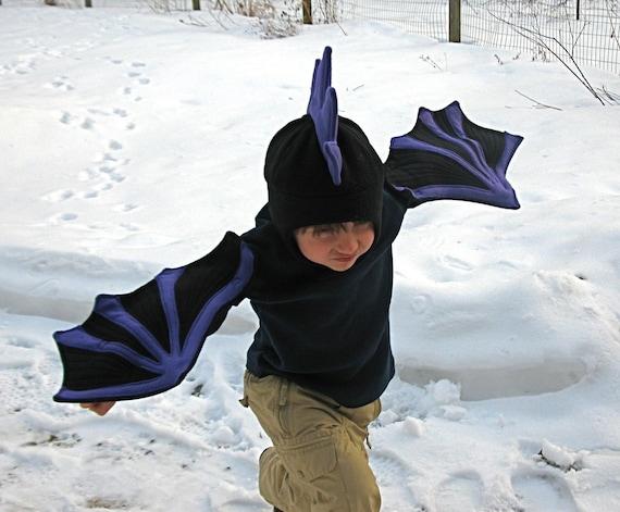 Black Dragon Wings for Imaginations in Motion - Children, toddler, preschooler