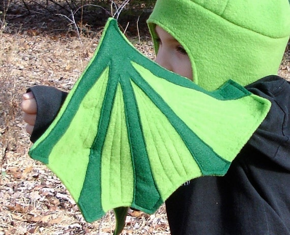 SALE! - Amazing Green Dragon Wings for Toddlers & Preschoolers