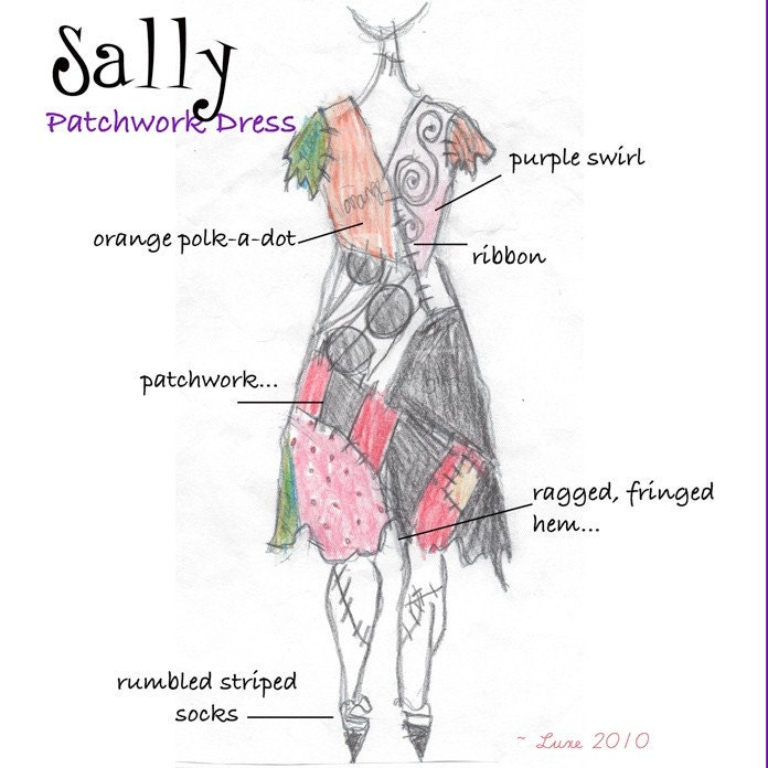 Sally Costume Nightmare Before Christmas Sally by ...