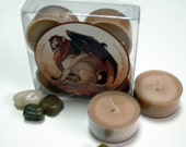 Sale! Manticore Musk - Brown Sugar and Fig - Soy Tealights